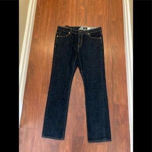 Volcom vorta slim straight jeans 33 x 32